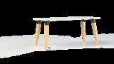 Corner tafel 180x80