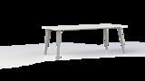 Corner tafel 200 of 240x100