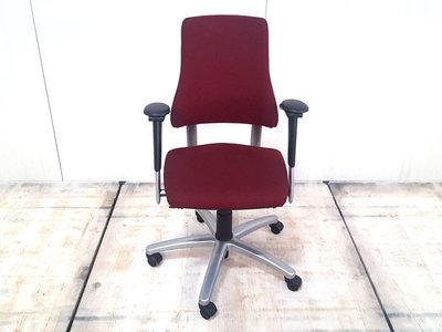 BMA Axia hoge rug nieuw bordeaux rood gestoffeerde bureaustoel