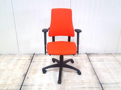 BMA Axia hoge rug nieuw oranje gestoffeerde bureaustoel