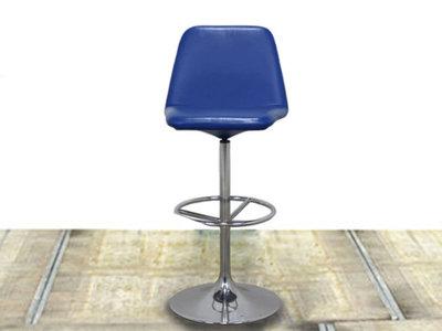 Johanson Vinga blauw gebruikte barkruk