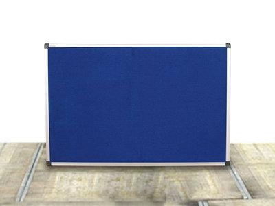 Prikbord in het Grijs of Blauw Gebruikt