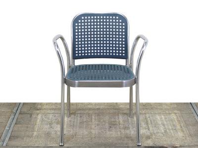 De Padova Silver gebruikte design stoel