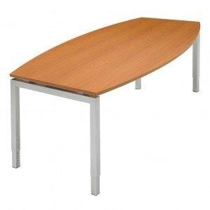NOW! Tonvormige vergadertafel 240x120cm