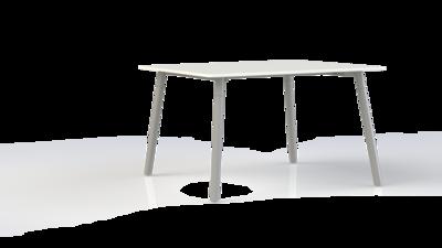 Corner tafel recht