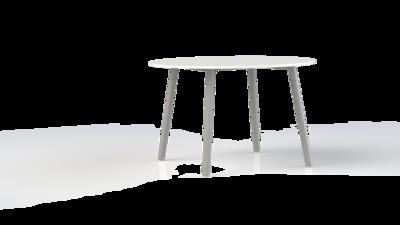 Corner tafel rond