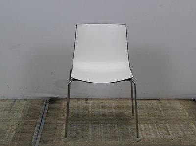 Arper Catifa 46 Designstoel Wit / Bruin