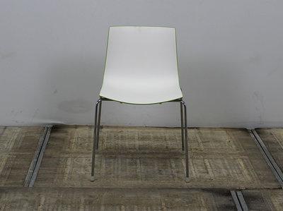 Arper Catifa 46 Designstoel Wit / Groen