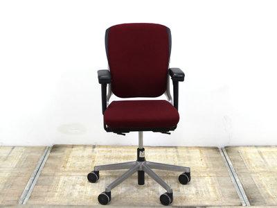 17026 Ahrend 230 bureaustoel gebruikt kantoormeubilair lamers arrola vooraanzicht