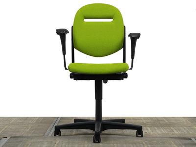 Ahrend 220 Bureaustoel NIEUW Lime Groen gestoffeerd