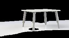 Corner tafel 120x80